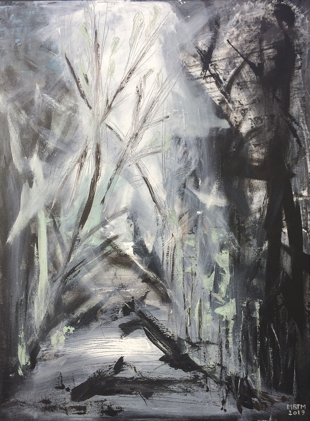 I Vejen | Maleri