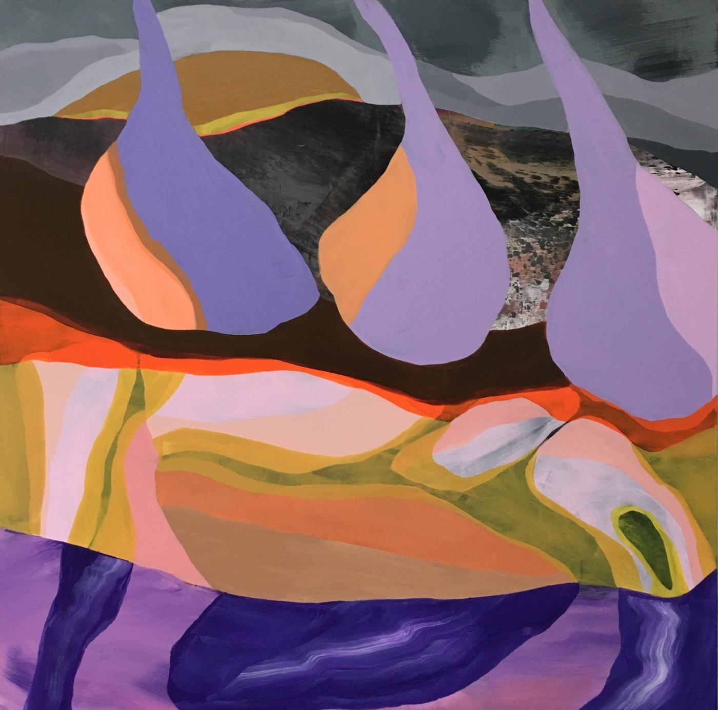 Purple rain | Maleri