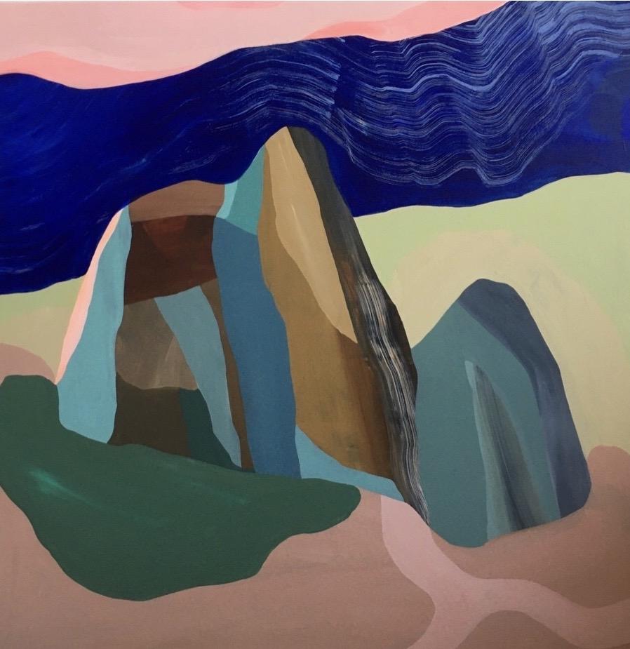 Mountains of memory | Maleri