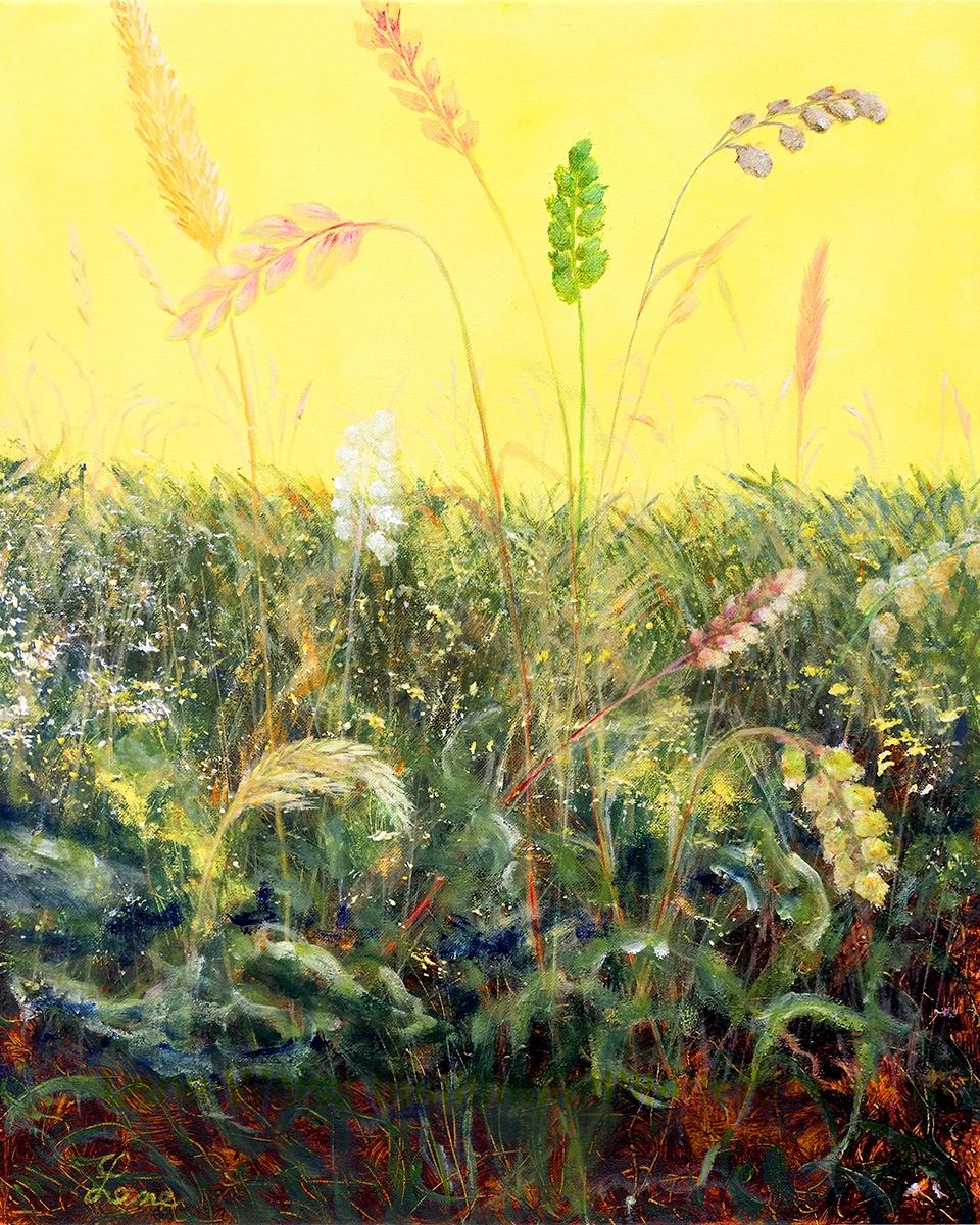 Sol og sommer (Sun and summer) | Maleri
