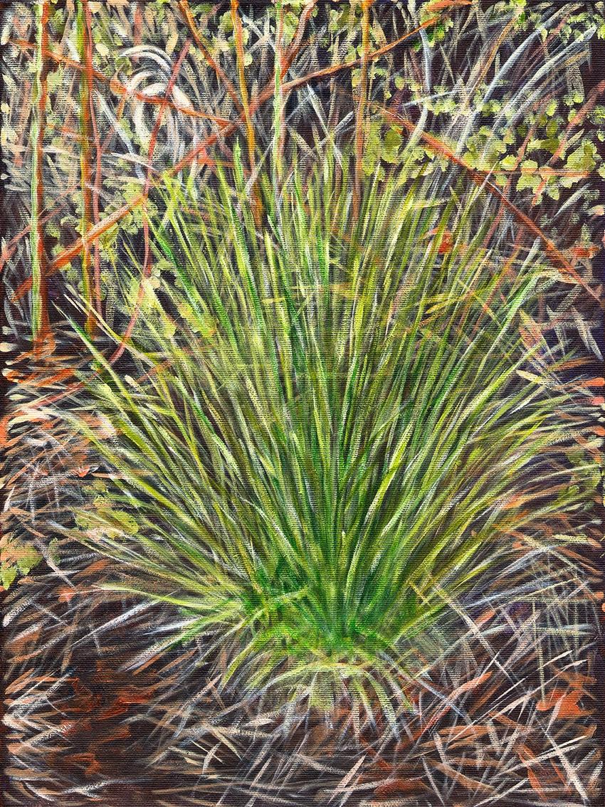 Græstot  (Grass) | Maleri