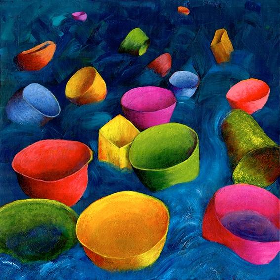 Skåle til havs   Maleri