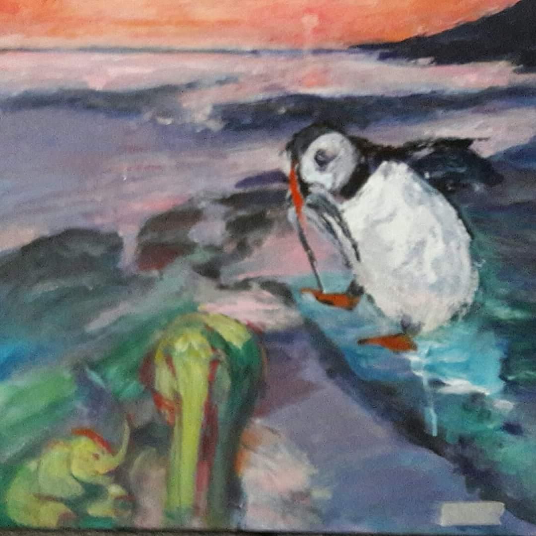 Hoppet | Maleri