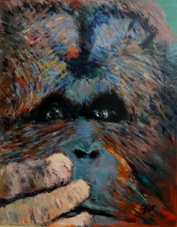 Orangutang  | Maleri