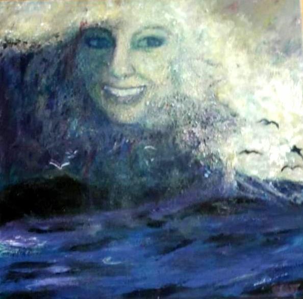 Livets bølger    Maleri