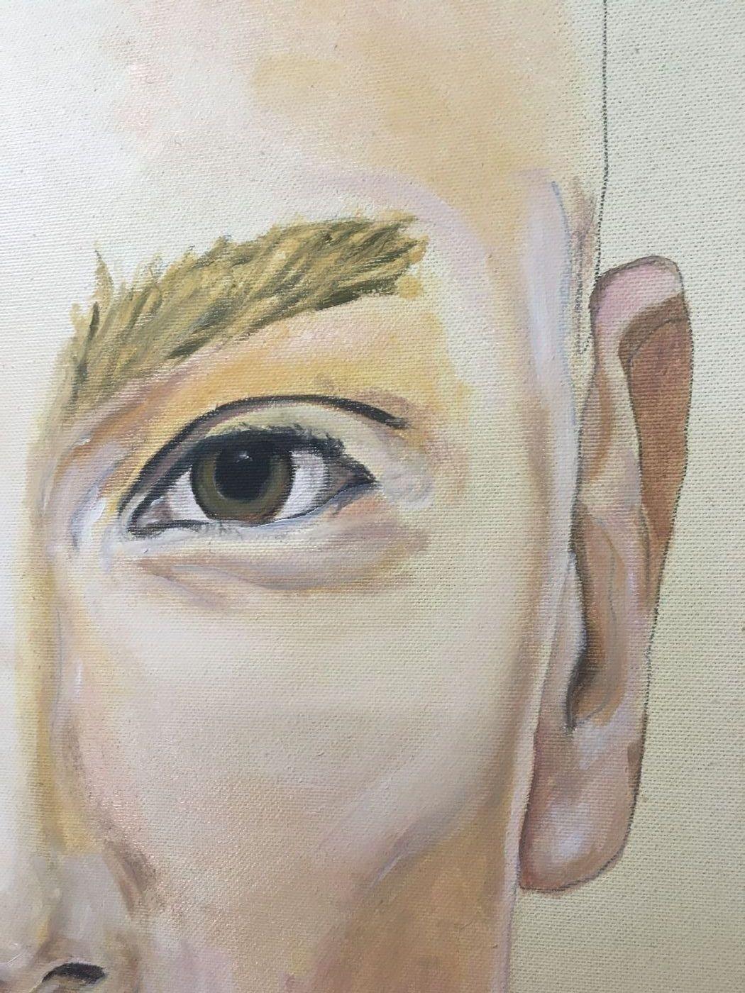 Gender - Unfinished No. III | Maleri | Detail 1