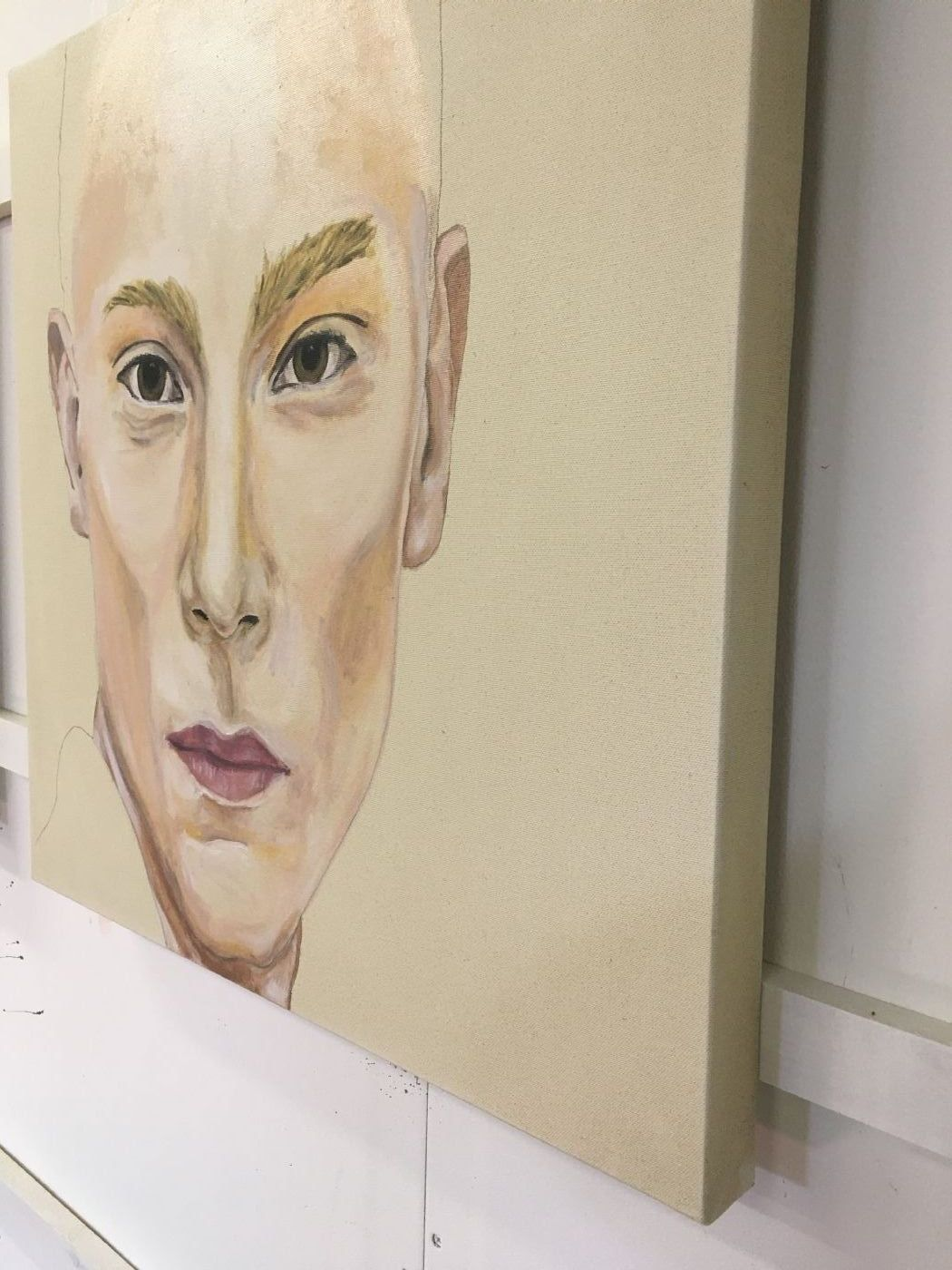 Gender - Unfinished No. III | Maleri | Detail 2