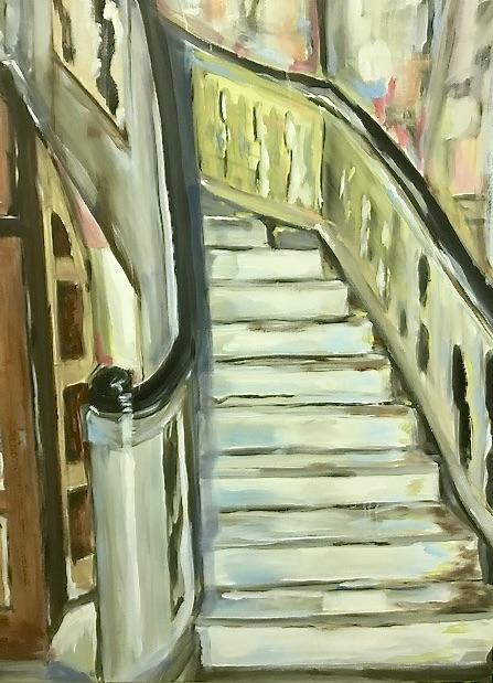The Hall | Maleri | Detail 1