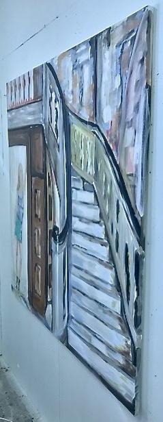 The Hall | Maleri | Detail 2