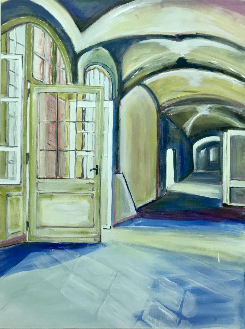 The Hallway through the House  | Maleri