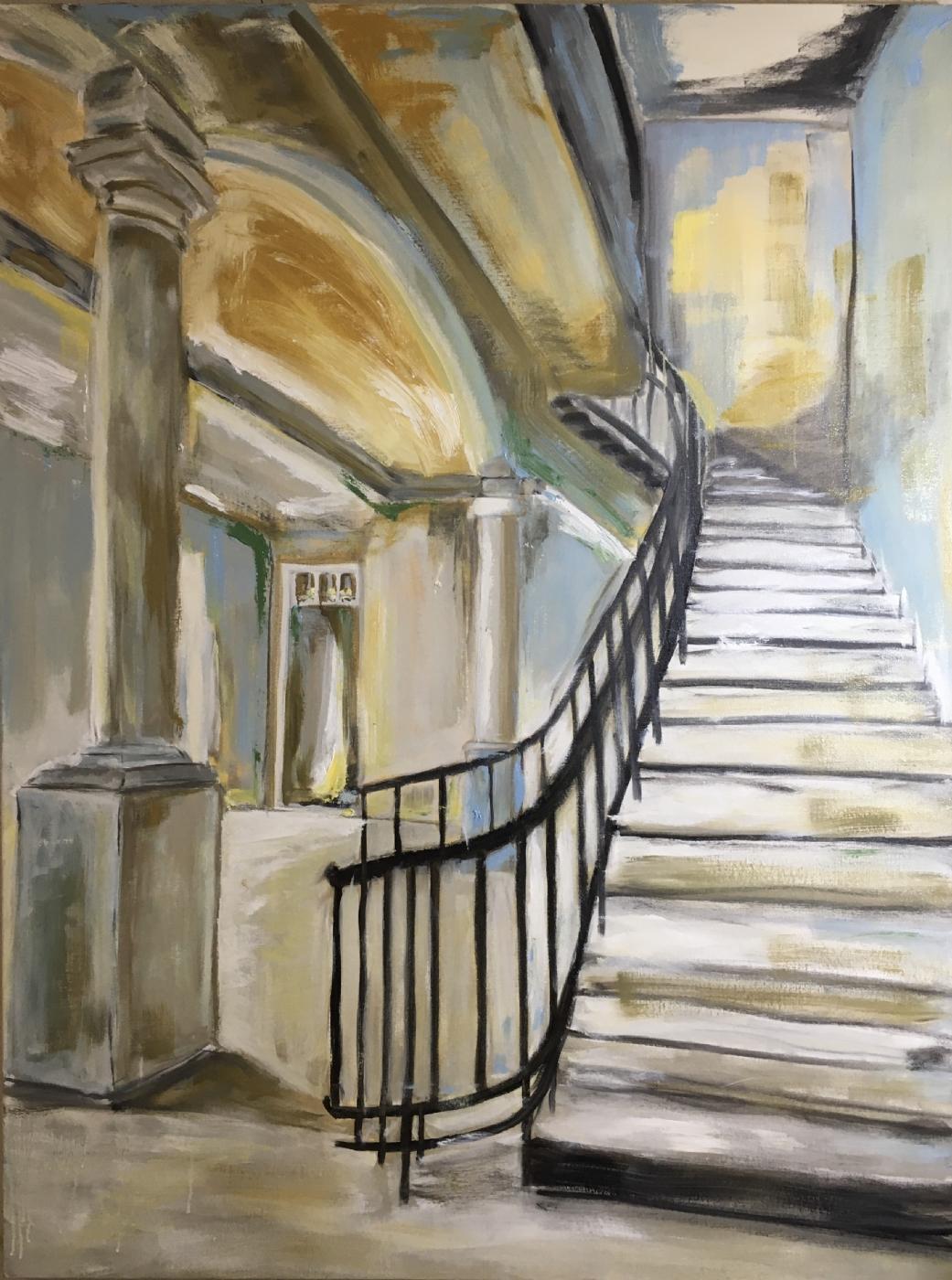 """The Stairway To Joy"" | Maleri"