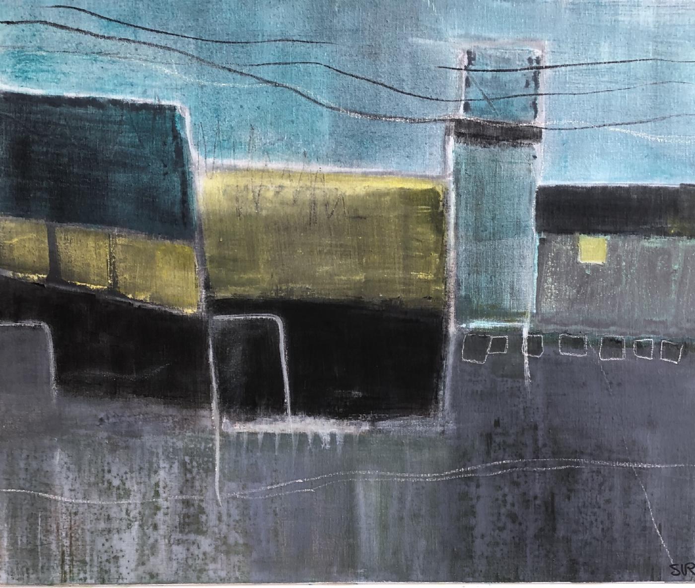 Havneliv 1 | Maleri