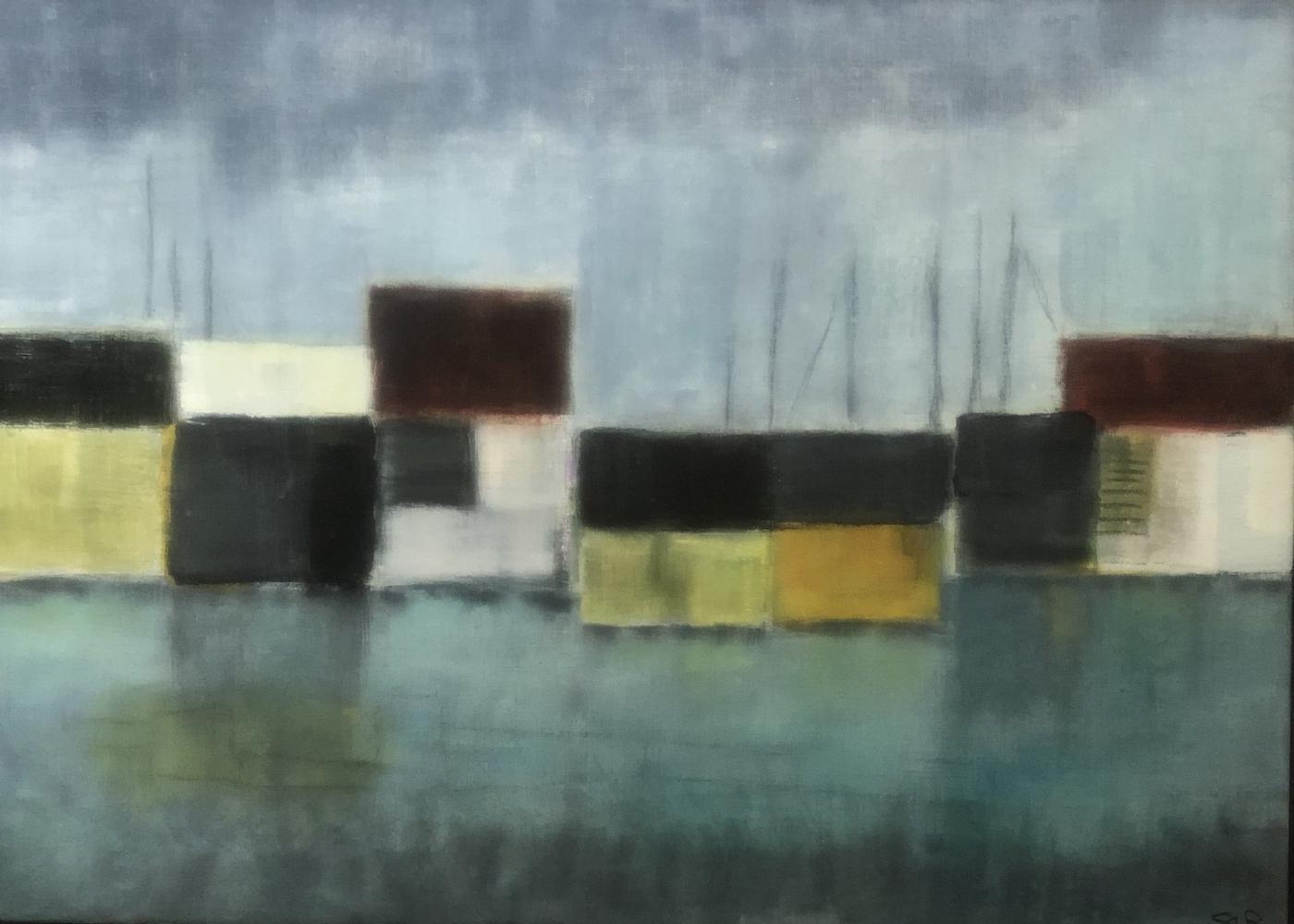 Havneliv 3 | Maleri