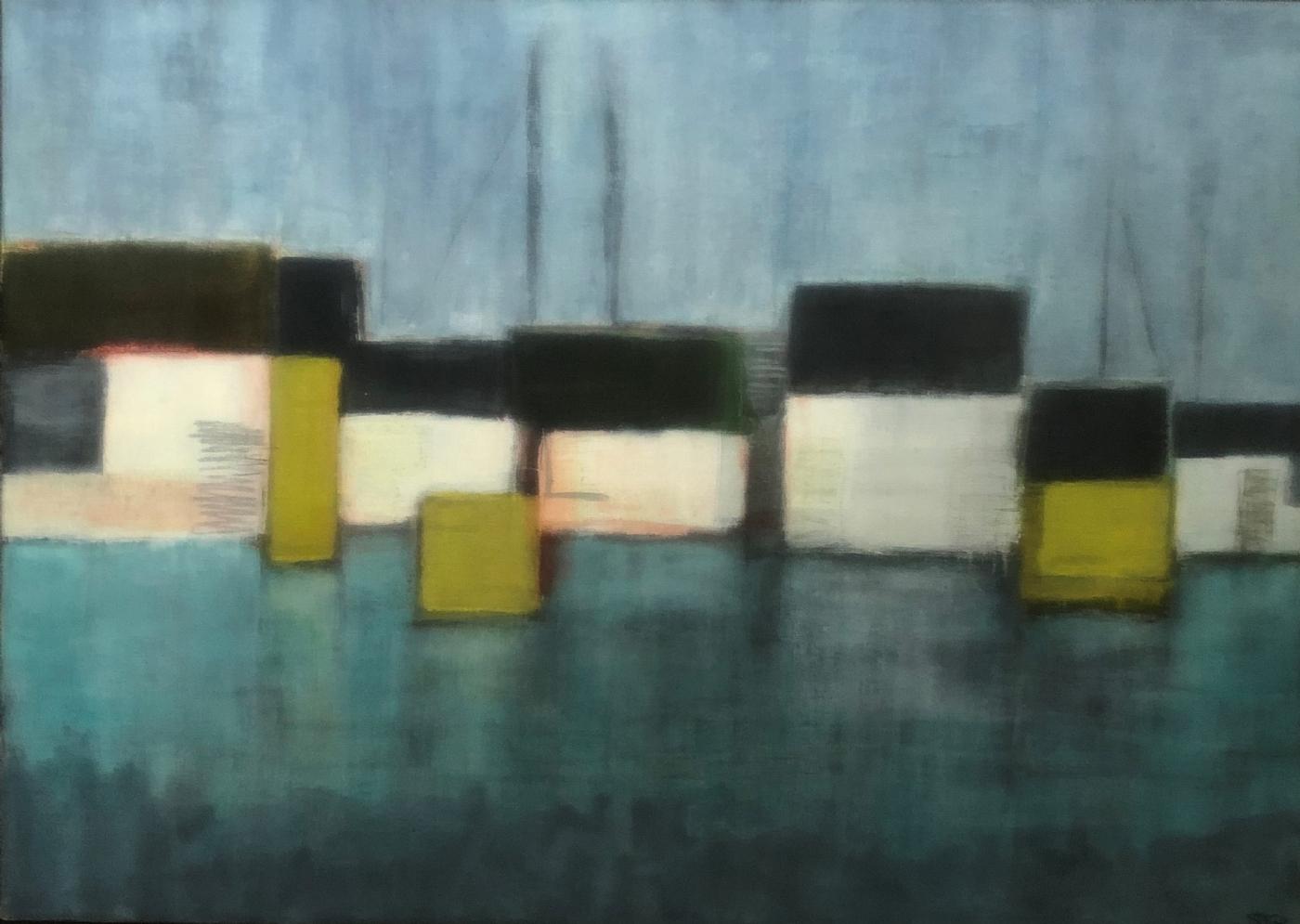 Havneliv 2   Maleri