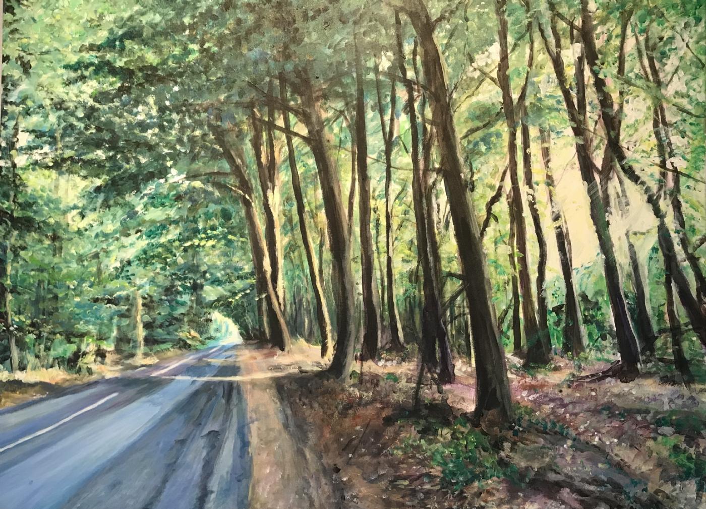 Skovens lys | Maleri
