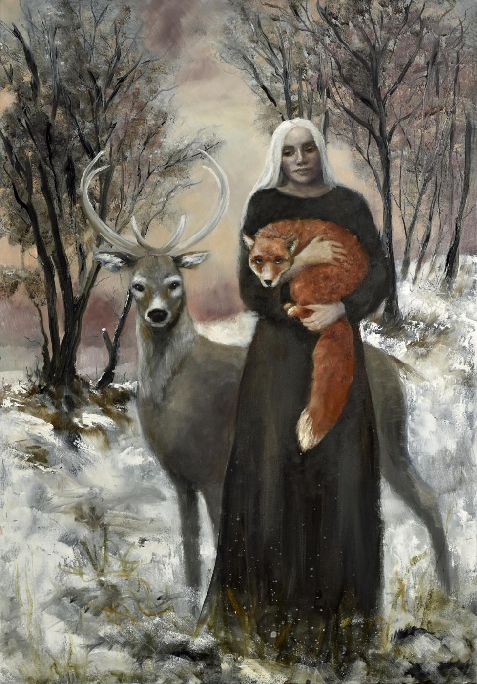 Winter rouge | Maleri