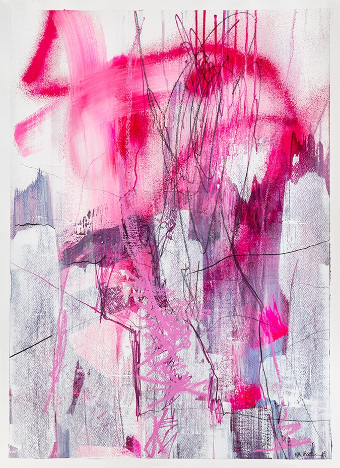 In a pink state of mind 2019 | Tegning