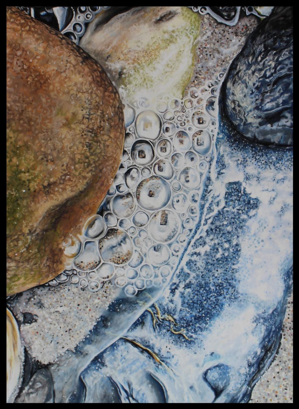 Livets bobler | Maleri