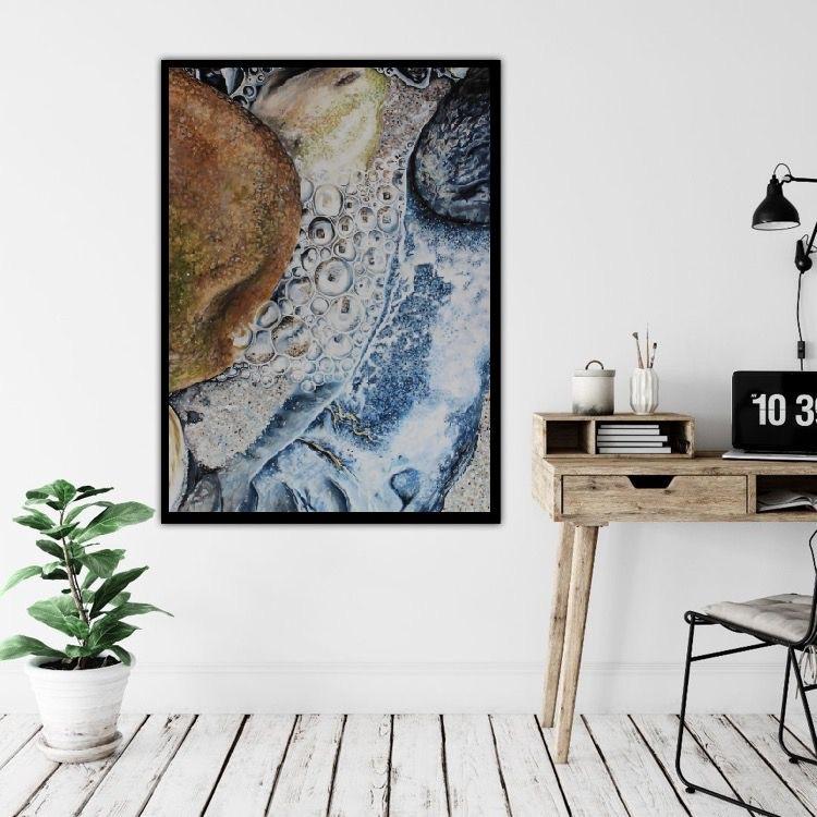 Livets bobler | Maleri | Detail 1