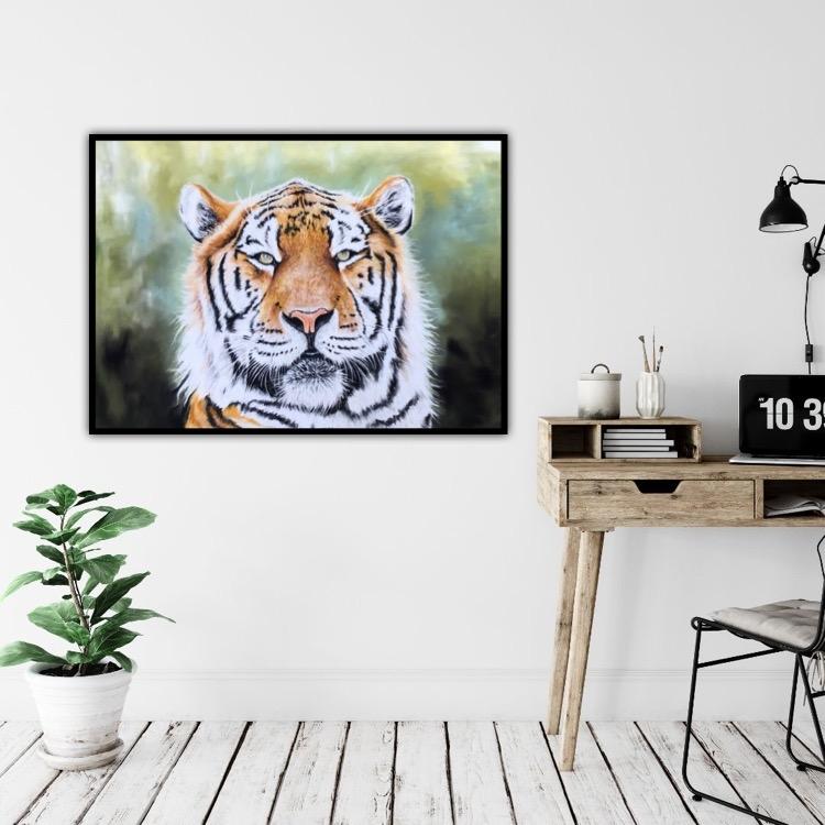Tiger | Maleri | Detail 1