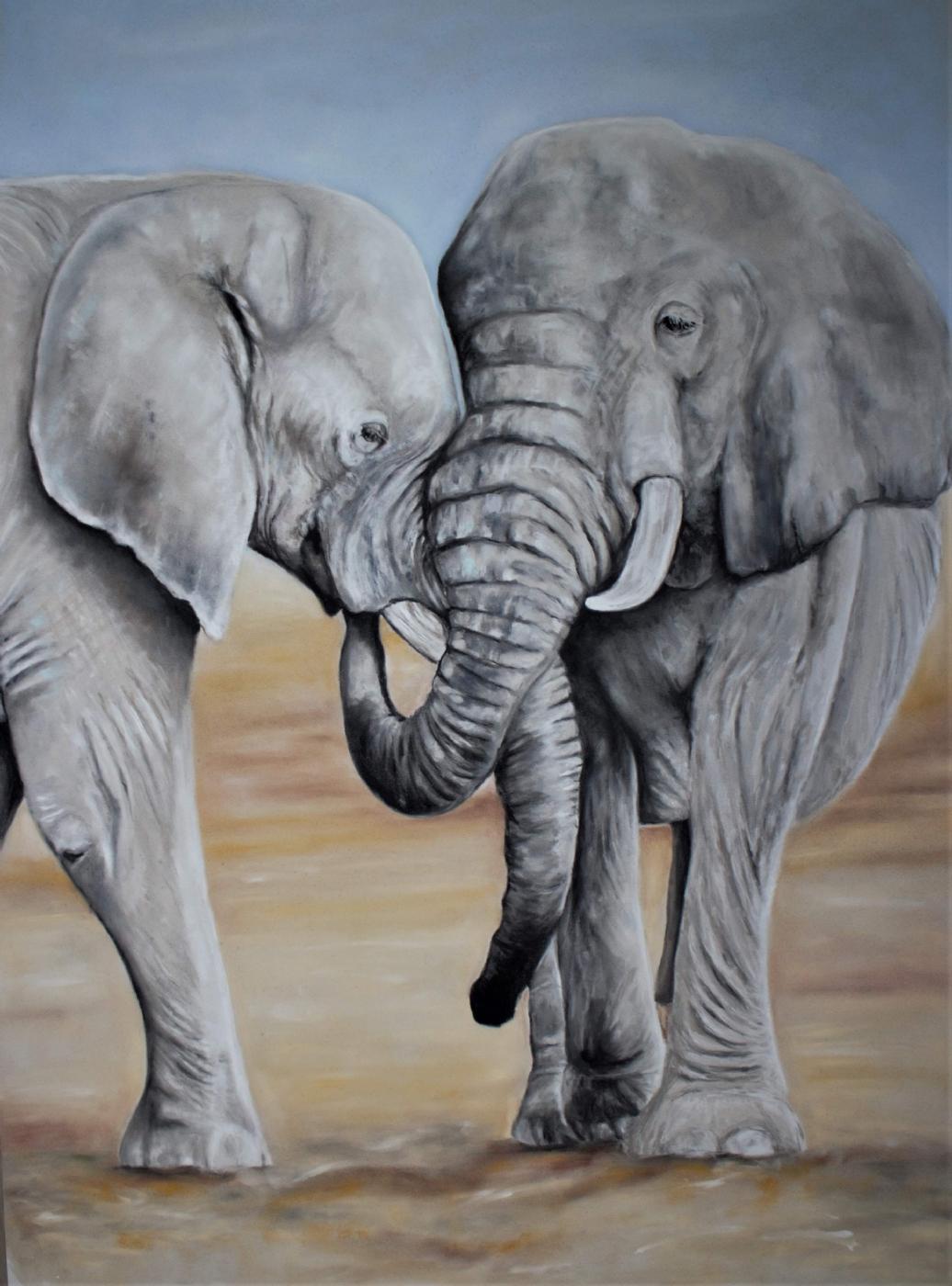 Elefanter | Maleri
