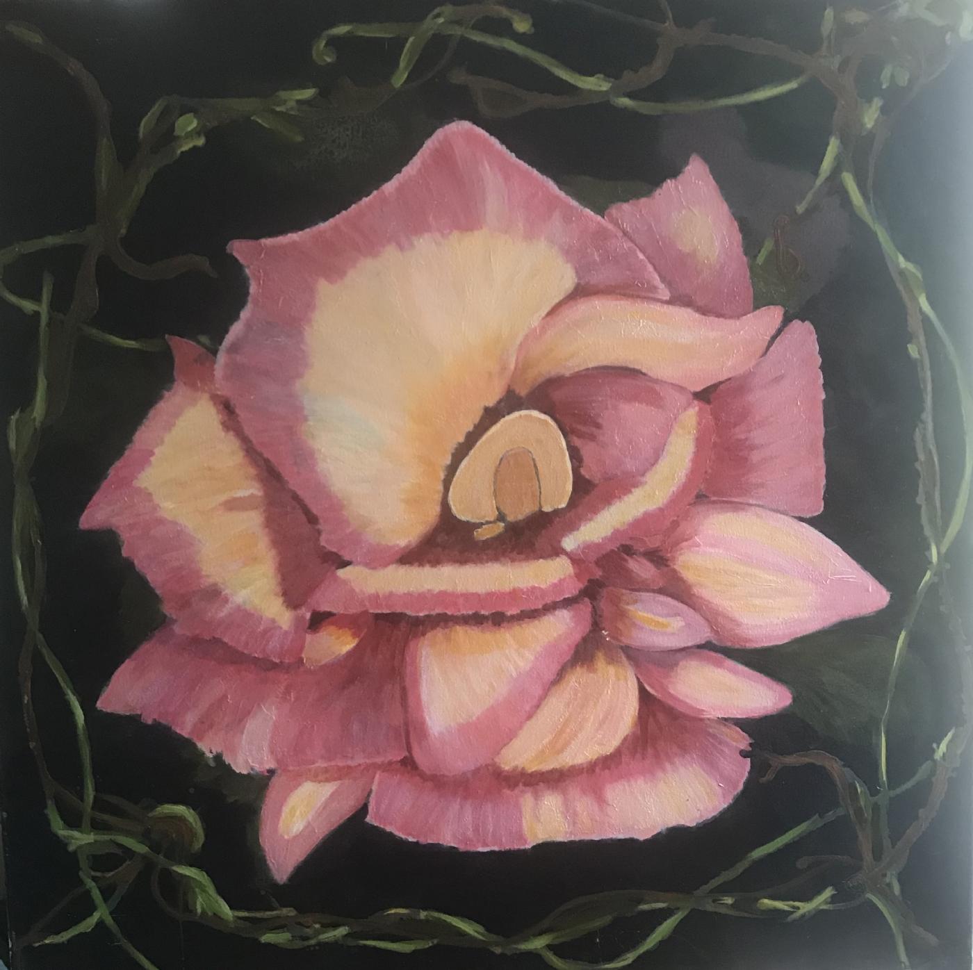 rosen real   Maleri
