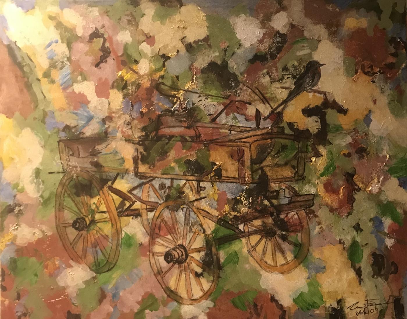 kærre | Maleri