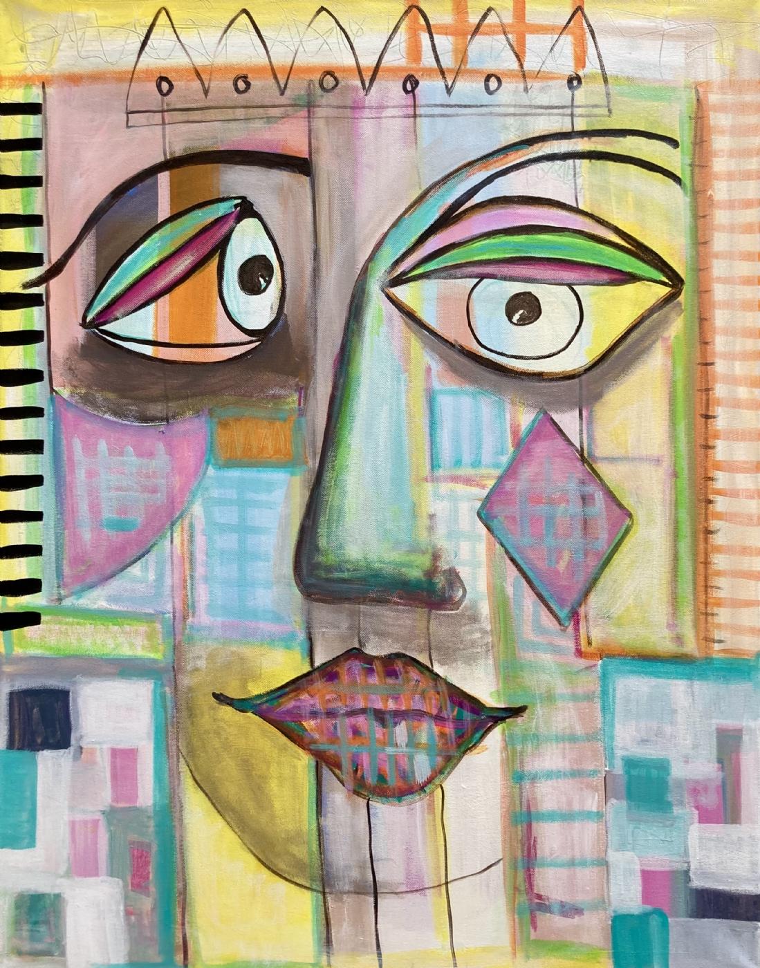 'SHE' | Maleri