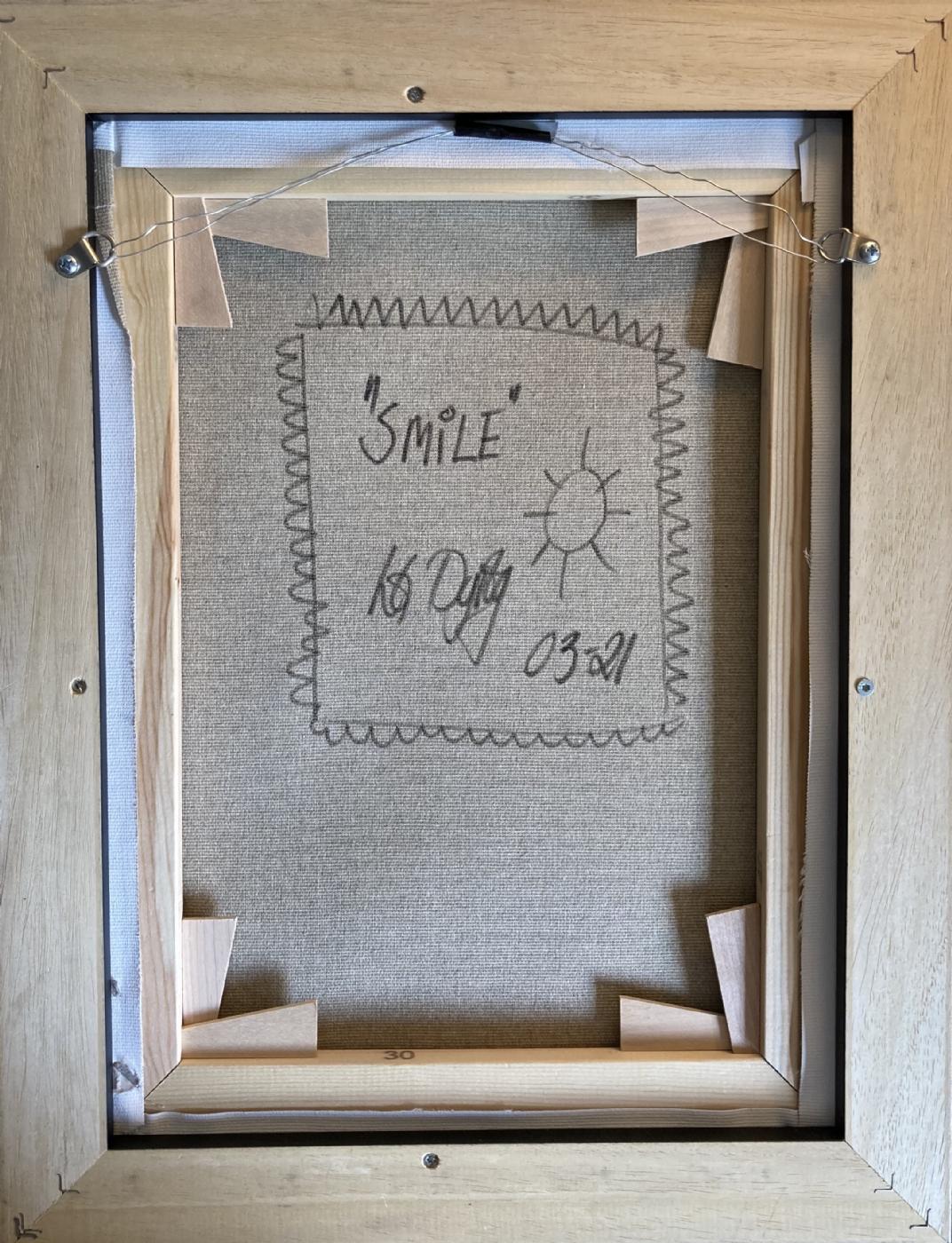 SMILE   Maleri   Detail 1