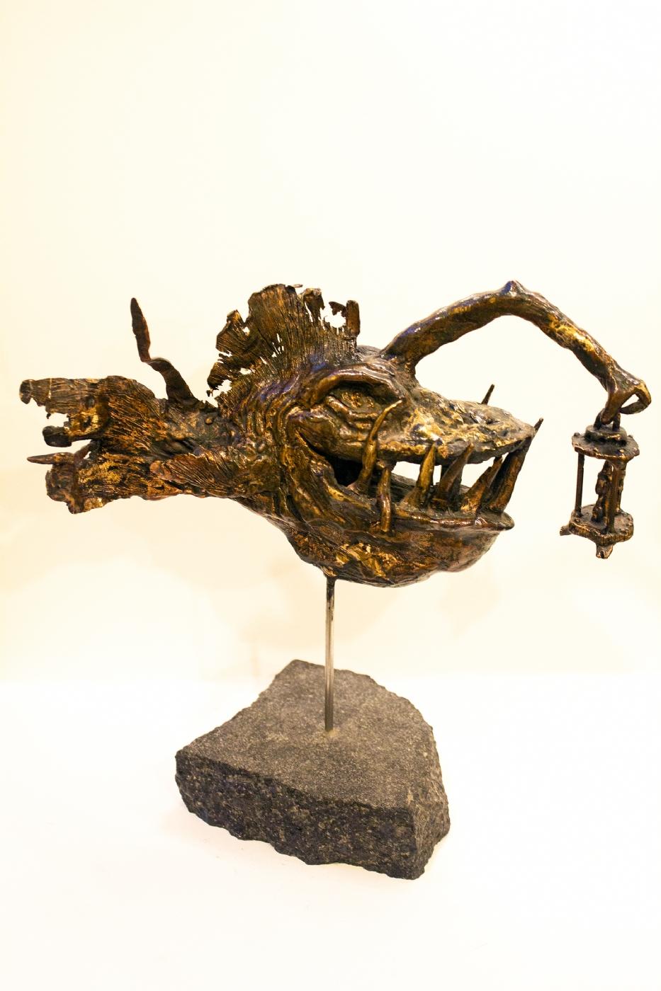In the deep | Skulptur