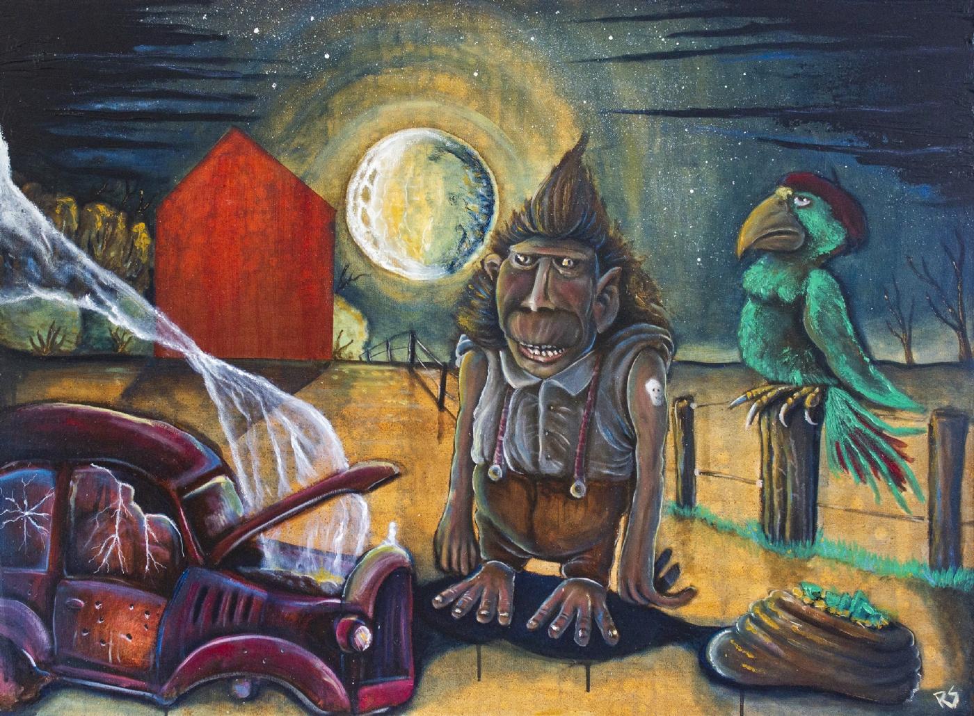 Tweeter and the monkeyman | Maleri