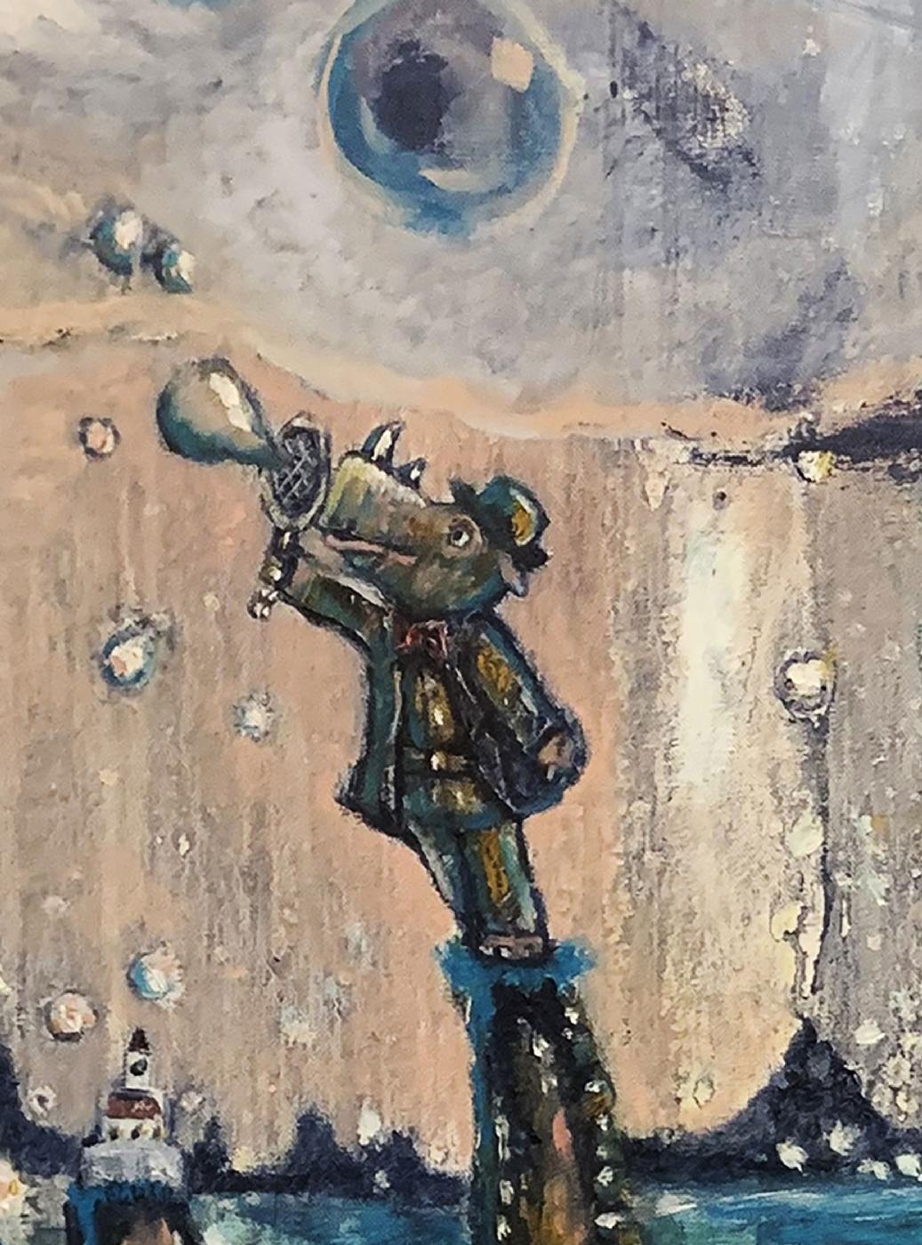 Bubbles | Maleri | Detail 1