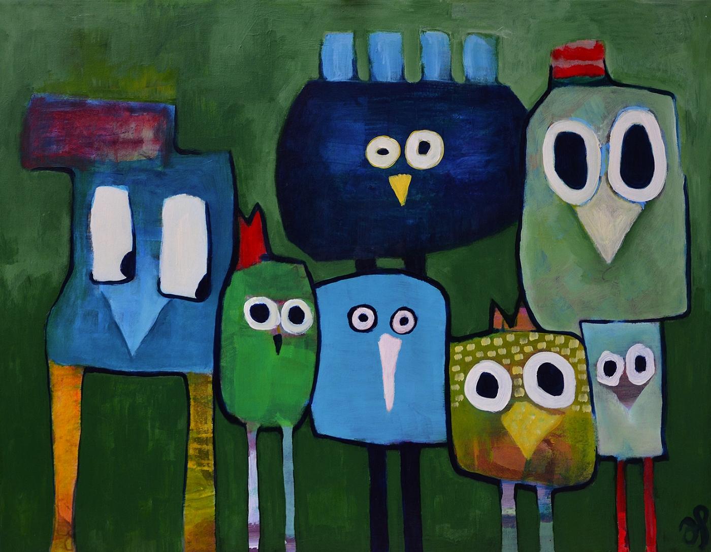 Cool kids | Maleri