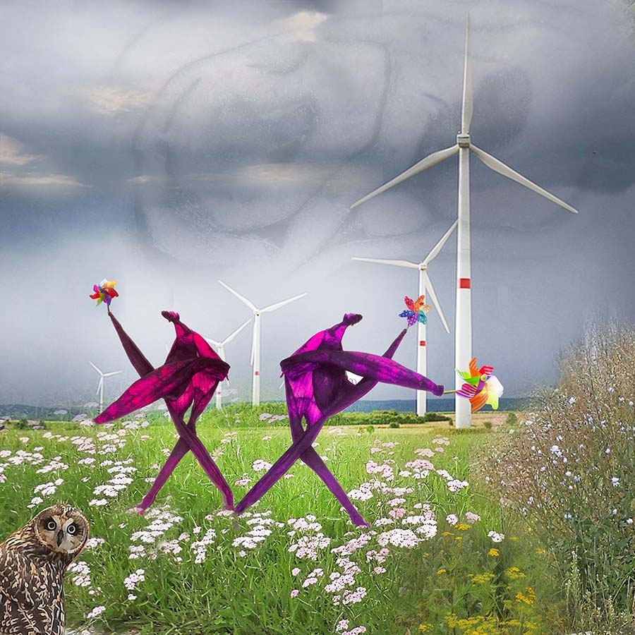 Blowing in the wind | Kunst
