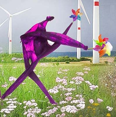 Blowing in the wind | Kunst | Detail 3
